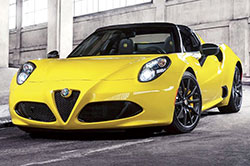 Alfa Romeo 4C Spider  le roadster survitamin