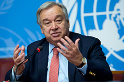 Situation à Guerguerate: Antonio Guterres réitère la position ferme des Nations unies