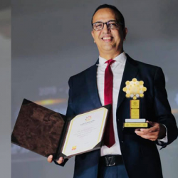 G2T Global Awards-2019    Belle cons  cration pour Abderrezzak Zraidi
