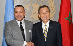 Accord inter-libyen : Ban Ki-moon remercie le Roi Mohammed VI