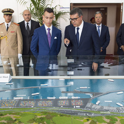 Le Prince Héritier Moulay El Hassan inaugure le port Tanger Med II