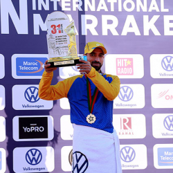 Hicham Laqouahi remporte la 31     dition du marathone international de Marrakech