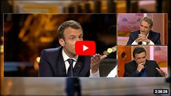 Interview de Macron face à Bourdin et Plenel