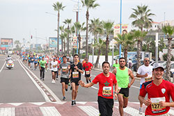 La 8-ème édition du Marathon international de Casablanca.