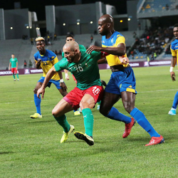 La s  lection nationale s incline face au Gabon  3-2