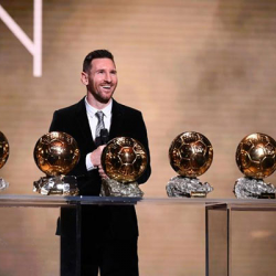 Messi remporte son sixi  me Ballon d Or