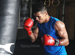Boxe  Mohamed Rabii domine le Mexicain Jesus Gurrola