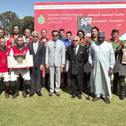 SAR le Prince Moulay Rachid pr  side la finale du Troph  e International Mohammed VI de Polo