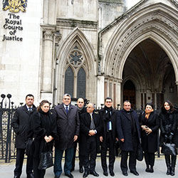 M. Ramid s'entretient à Londres avec Lord Justice Fulford