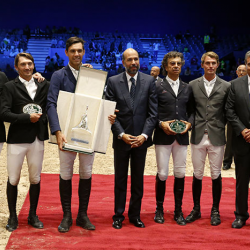 Morocco Royal Tour de saut d'obstacles : L'Italien Roberto Torchito s'adjuge le Grand Prix