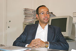 Yassine Azeddine, fondateur du cabinet de consulting Strategic and Digital Intelligence
