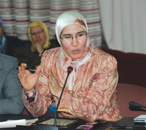 Nezha El Ouafi, membre de l'assemblée parlementaire du Conseil de l'Europe