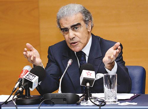 Abdellatif Jouahri. Le texte élargit également les cas d'incompatibilité.