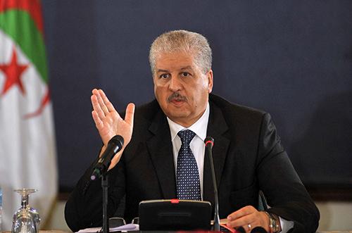 Abdelmalek Sellal, Premier ministre algérien
