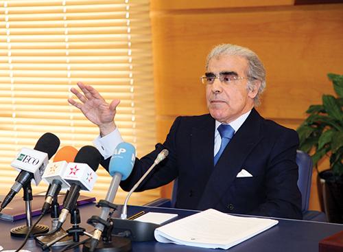 Abdellatif Jouahri, gouverneur de Bank Al Maghrib.