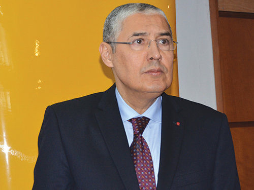 "Mohamed El Kettani: ""Nous anticipons les risques""."