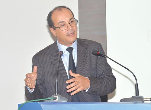 Said Ahmidouch, directeur général de la CNSS.