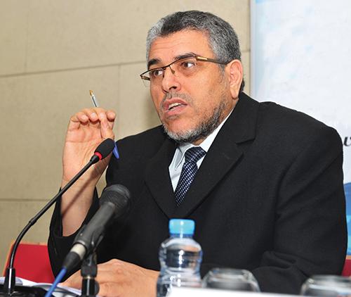 Mustapha Ramid, ministre de la Justice et des Libertés