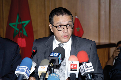 Mohamed Boussaïd, ministre de l'Economie et des Finances. (CREDIT PHOTO: DR)