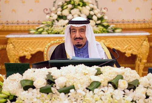 Le nouveau roi d'Arabie saoudite, Salmane, à Riyad le 2 février 2015 - Ph : AFP