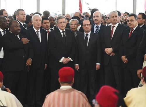 Grande marche de Tunis contre le terrorisme (CREDIT PHOTO: DR)