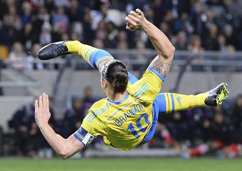 L'attaquant vedette du Paris SG et de l'équipe nationale de Suède, Zlatan Ibrahimovic
