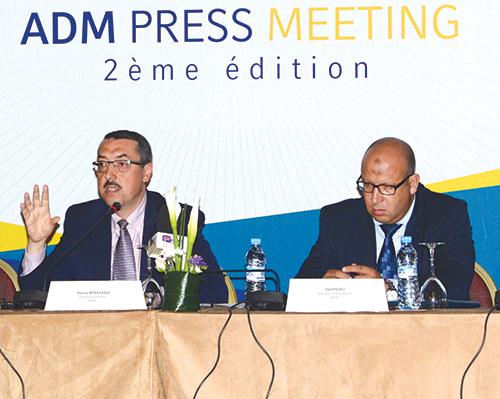 Anouar Benazouz, directeur général, et Saïd Hilali, directeur d'exploitation. Casablance, le 5 mai 2015. - © Photo : DR