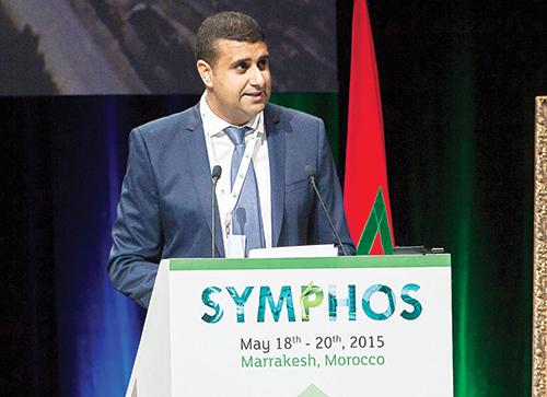 Soufiane El Kassi, président de la troisième édition du Symphos et directeur exécutif industriel du groupe OCP.