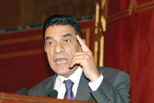 Mohamed Louafa, ministre délégué en charge des affaires générales et de la gouvernance. - © Ph : DR