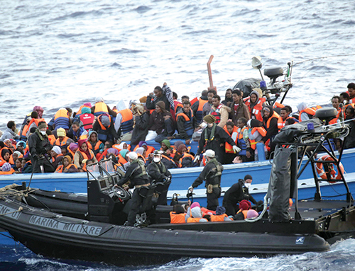 Vaste op  ration d Interpol contre le trafic et la traite de migrants avec le concours du Maroc