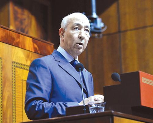 Driss Jettou, le premier président de la Cour des comptes.