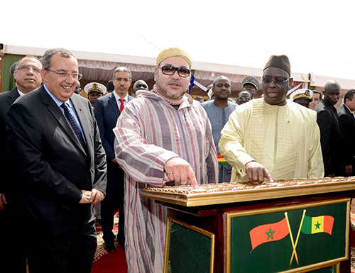SM le Roi Mohammed VI et le Président sénégalais