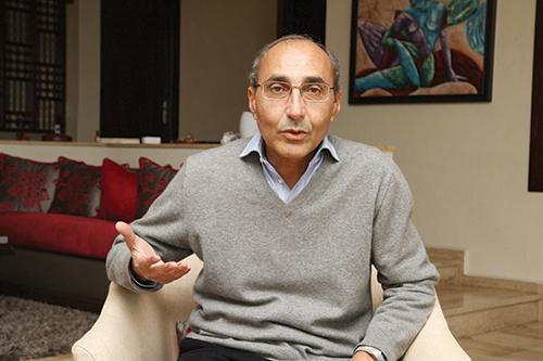 Farid Senhaji, président de l'association Nagham