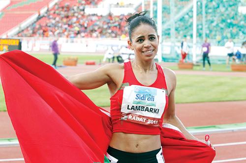Hayat Lambarki qualifiée pour les championnats du monde - Ph : DR