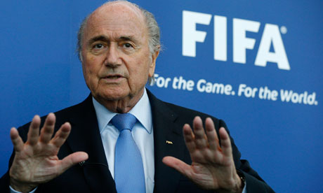Fifa President Sepp Blatter says the World Cup has to change with the times