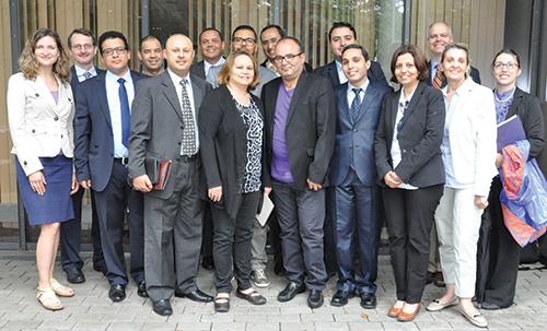 Visite de journalistes marocains au siège de l'Africom, à Stuttgart