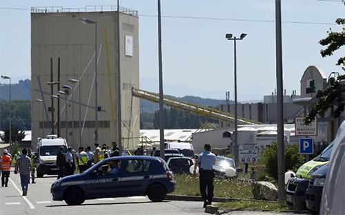 un attentat a été commis le 26 juin 2015 à Saint-Quentin-Fallavier - AFP