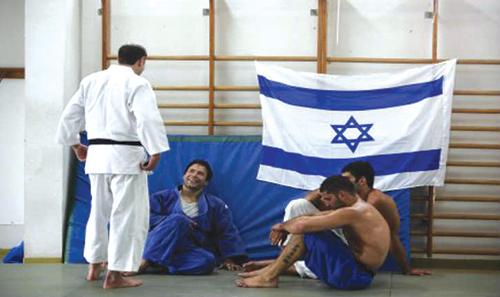 La délégation israélienne de Judo au Maroc.