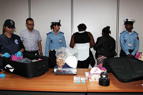 Aéroport Mohammed V : Arrestation de deux Capverdiennes en possession de près de 6 kg de cocaïne - Ph : MAP
