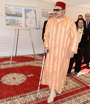 Sa Majesté le Roi Mohammed VI - © Ph : MAP