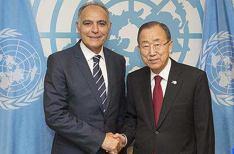 M. Mezouar s'entretient avec Ban Ki-moon