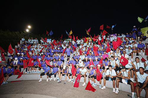 Coup d'envoi des 1ères Olympiades de la Jeunesse et de l'Avenir