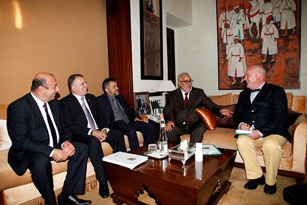 Benkirane reçoit à Rabat une délégation parlementaire brésilienne