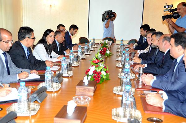 Bouaida s'entretient avec une délégation parlementaire brésilienne