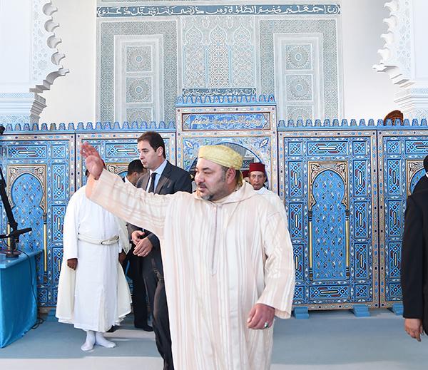SM le Roi adresse un message aux p  lerins Marocains