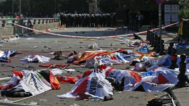La Turquie frappée par l'attentat le plus meurtrier de son histoire