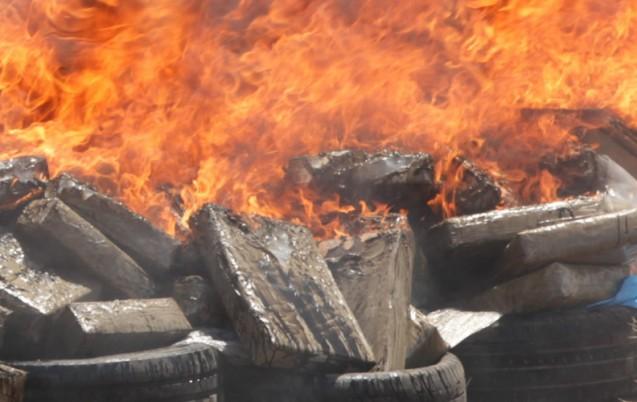 Ouarzazate   destruction de plus d une tonne de drogue