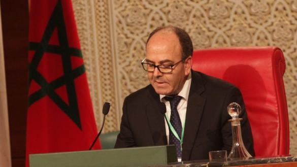 Hakim Benchamach,Président de la chambre des conseillers