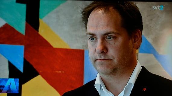 Kenneth G. Forslund, président de la Commission des Affaires étrangères au parlement suédois et député du Parti Social-démocrate au pouvoir
