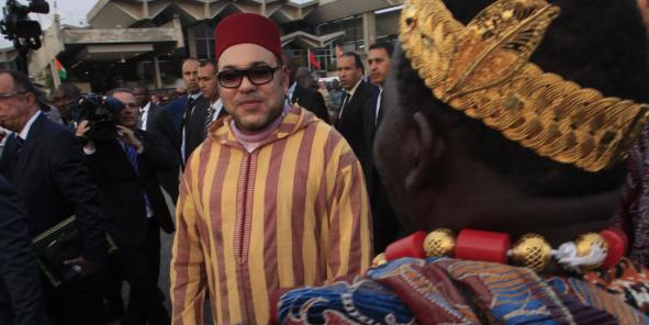 mohammed 6 en afrique